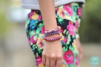 Shot by Gillian Stephanie Uang from ByDetails fashion blog. Bracelets: BraidsandBonds Bracelets.