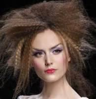 Wild Crimped hair!