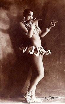 STL native, Josephine Baker famous Vaudeville performer.