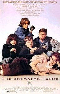 One of my favorite 80's movies. The Breakfast Club.