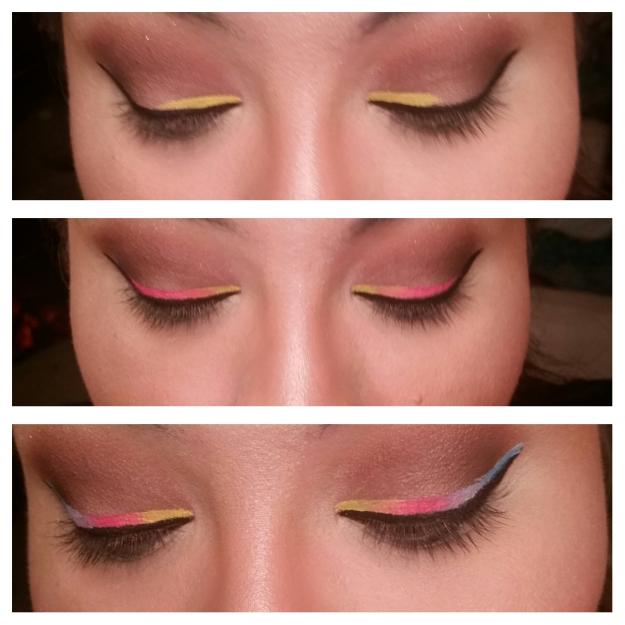 MissMouse_Rainbow_Pinup_Makeup_2