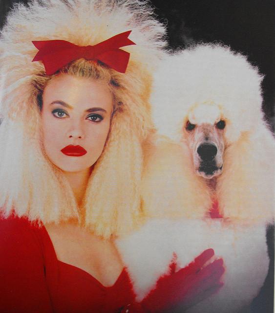 1980s Vibe for Paris Fashion Week: Fall/Winter 2018-2019